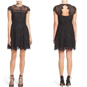 NWT $98 BB Dakota Rihanna Eyelash Lace Dress - 0